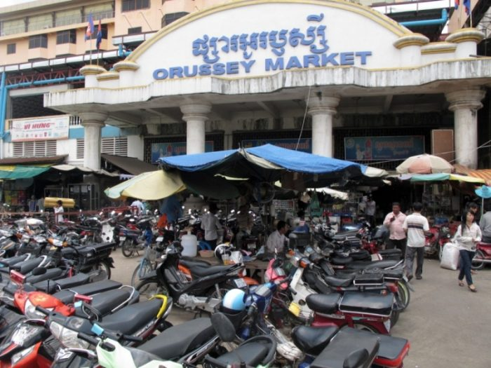 Chợ Orussey market